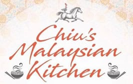 Chiu's Malasian Kitchen Tuesday lunch times