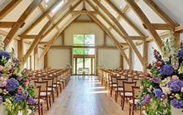 Get married at Easton Grange? How we can support your big day