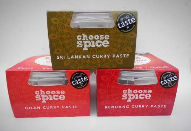 Choose Spice. Currys you can make at home from Vernon Blackmore and Jamie Symonds